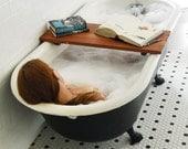 Redwood Tub Caddy, Small Batch, Bathtub Caddy, Bathtub Tray, Bathtub Shelf, Bathroom Storage, Reclaimed Wood, Wood Bath Shelf, For Her, Him