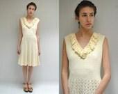 Crochet Dress  //  Ivory Sweater Dress  //  THE WICKFORD
