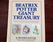 vintage Peter Rabbit book - Beatrix Potter Giant Treasury