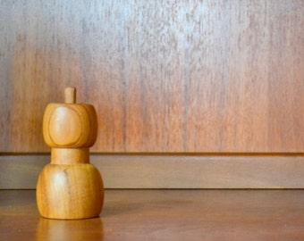 vintage dansk jens quistgaard danish modern acorn pepper grinder