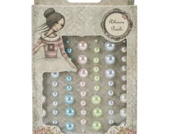 Santoro Mirabelle 2 Adhesive Pearls