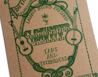 2nd Edition Clawhammer Ukulele Instructional Book