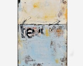 Wall art Painting Abstract painting on wood 24x36