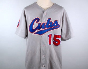 Chicago Cubs Jersey, #15 Cubs Jersey, Size Large