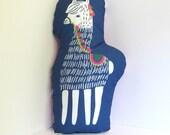 Happy Alpaca Pillow