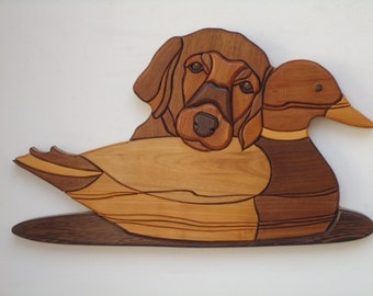 Pup with Decoy