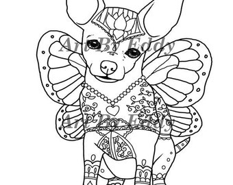 Printable Coloring Pages Chihuahuas Printable Best