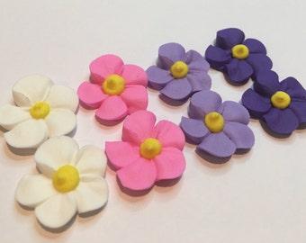 lot of 100 riyal icing flowers