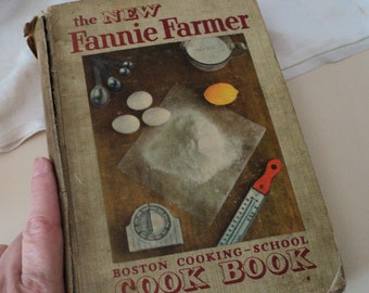 1951 Fannie Farmer Cookbook  Boston Cooking School Cook Book