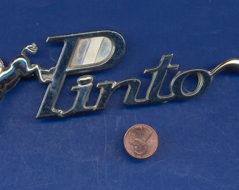 Original Vintage 1972 Pinto Emblem