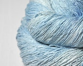 Head in the clouds - Silk Noil Lace Yarn - LIMITED EDITION