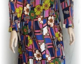 Vintage 60s Maxi Dress,