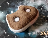 Small Cookie Cat Handmade FanArt Plush Toy