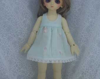Super Dollfie Yo SD Littlefee One Piece Dress - Apple Green Sheep