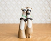 Black-Footed Ferret Wedding Cake Topper by Bonjour Poupette