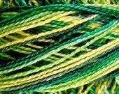 Size 8, M26, Valdani Perle Cotton, Green Grass