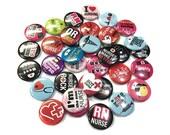 """Nurse Assortment, 1"""" Button, Nurse Button, Nurse Pin, Nurse Party Favor, Nurse Flatback, Nurse Badge, Nurse Theme, Nurse Badge, Nurse Decor"""