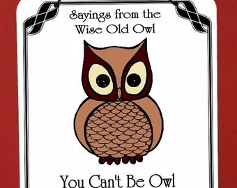 Owl Sign