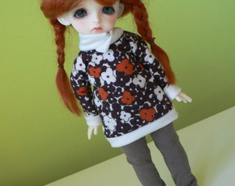 bjd Lati Yellow SP outfit retro