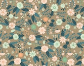 Floral Crib Sheet - Fitted Crib Sheets / Girls Nursery Bedding / Peach Nursery Bedding / Mini Crib Sheets / Changing Pad Covers / Etsy Baby