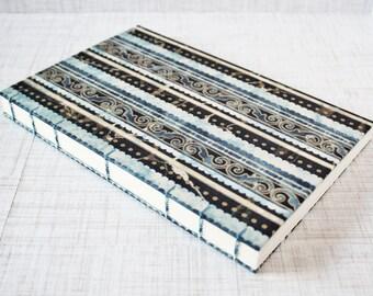 Watercolor Journal Mixed Media Journal Blank Art Journal Artist Sketchbook 6x9 Inch Watercolor Sketchbook Fabric Journal Handbound Journal