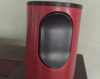 Braun cylindric T2 table lighter designed by Dieter Rams
