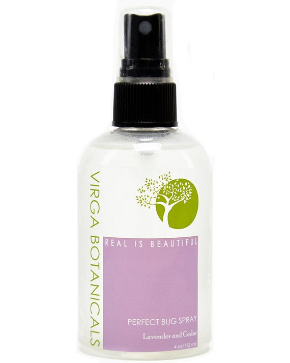 Perfect Bug Spray with lavender and cedar - 4oz.