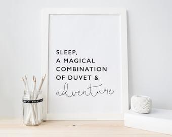 Sleep - Poster Print