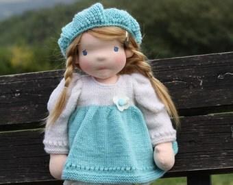 "Waldorf doll Lisa 18"" Gifts for Children birthday, dolls"