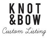 Custom Listing for AnastasiaMarieShop