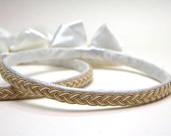 STEFANA Wedding Crowns - Orthodox Stefana - Bridal Crowns HELLAS - One Pair