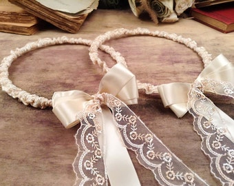 STEFANA Wedding Crowns - Orthodox Stefana - Bridal Crowns APHRODITE - One Pair