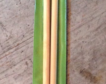 Clover Takumi Bamboo No. 11 8mm Knitting Needles 35 cm