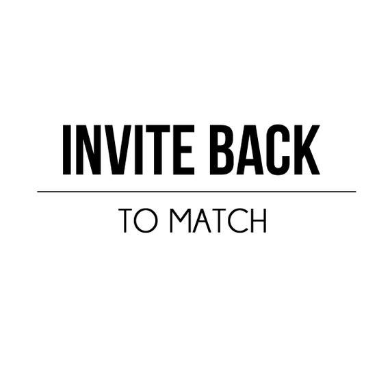 Add Invite Back Design - Petite Party Studio