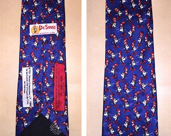 Dr Suess, Cat in the Hat Men's Collectable Tie