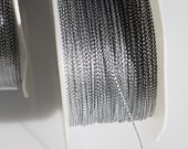 Silver Metallic Cord- 144 yards