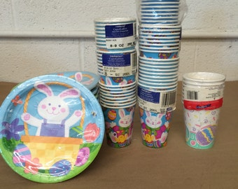 Lot of Old New Stock EasterParty Supplies