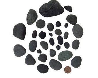 Many Black Lake Stones