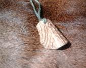 Gnarled Deer Antler Pendant