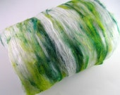 Irish Mist ~ Merino/Bamboo/Silk/Soffsilk® Art Batt ~ 2.0 oz