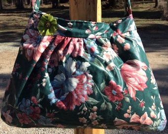 FLOWERS FOR SPRING purse
