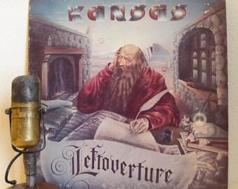 "ON SALE Kansas Vinyl Record Album LP 1970s Classic Rock and Roll Steve Walsh Kerry Livgren ""Leftoverture"" (1976 Cbs w/""Carry On My Wayward S"