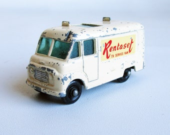 1960s Lesney Matchbox TV Service Van - Die Cast Metal