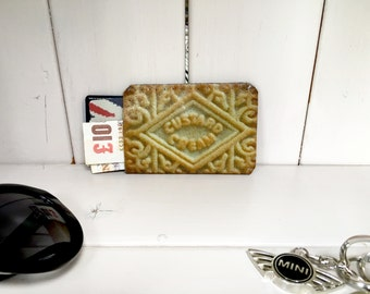 Credit Card Holder, Business Card Holder, Debit Card Holder, Oyster Card Holder, Credit Card Case - Bourbon Biscuit Custard Cream Biscuit