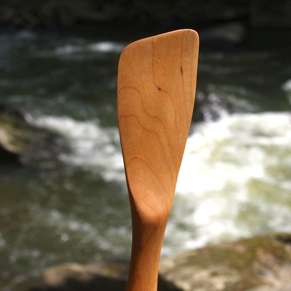 Righthanded Spatula  Handmade from Cherry Wood