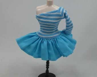 Outfit Clothing Fashion costume Handmade for Blythe Doll strips dress 955-34