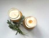 SALE California Soy Candle Set Organic Aromatherapy Bergamot Cedarwood Fir Needle Grapefruit Patchouli Eco Friendly Mason Jar Valentine Gift
