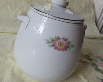HALL Bean Pot china ceramic