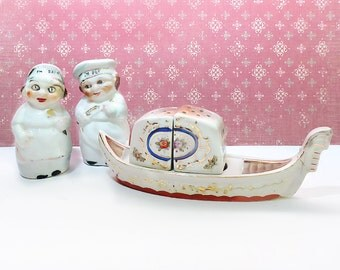 Vintage Salt & Pepper Shakers, Made in Japan