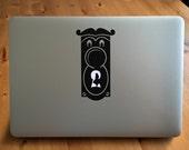 Alice in Wonderland Macbook Sticker
